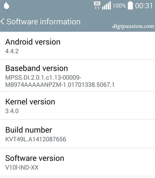 LG G3 güncelleme
