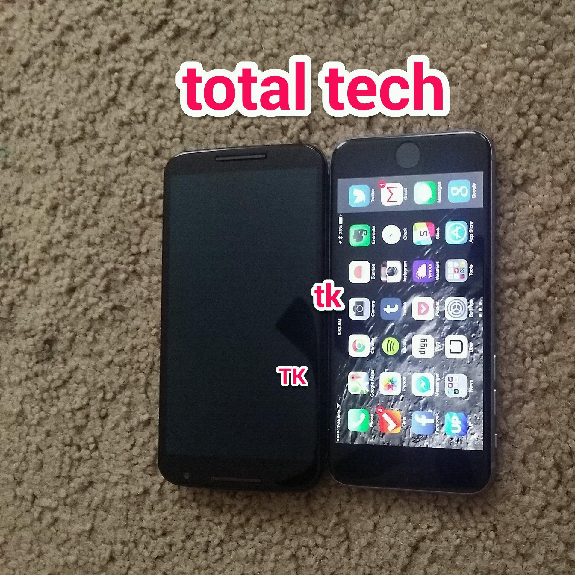 Nexus 6 vs. iPhone 6 Plus