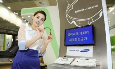 Samsung'tan esnek bataryalar geliyor!