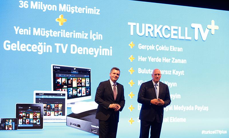 Turkcell Superonline Genel Müdürü Murat Erkan, Turkcell Grup CEO'su Süreyya Ciliv