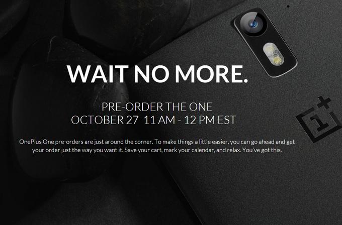 OnePlus One'ın ön sipariş sistemi bugün başlıyor!
