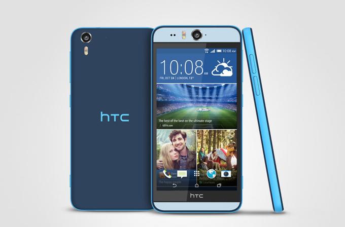 HTC Desire Eye, 13MP ön kamerası ile tanıtıldı