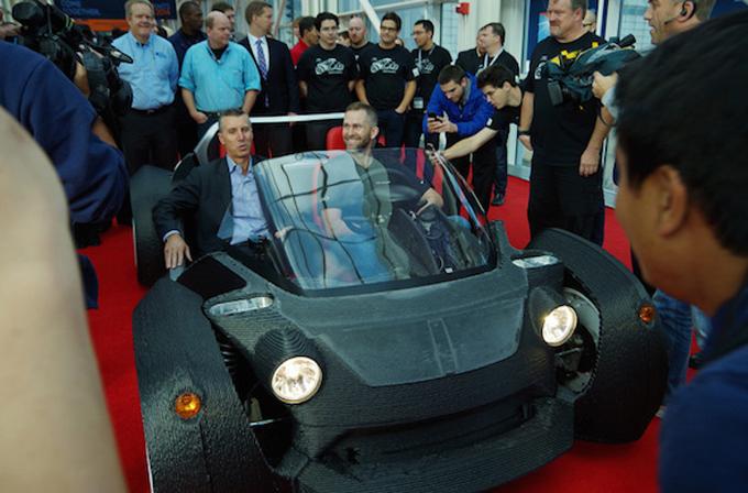 Video/Galeri: Dünyanın ilk 3D yazıcı ile üretilen otomobili; Strati