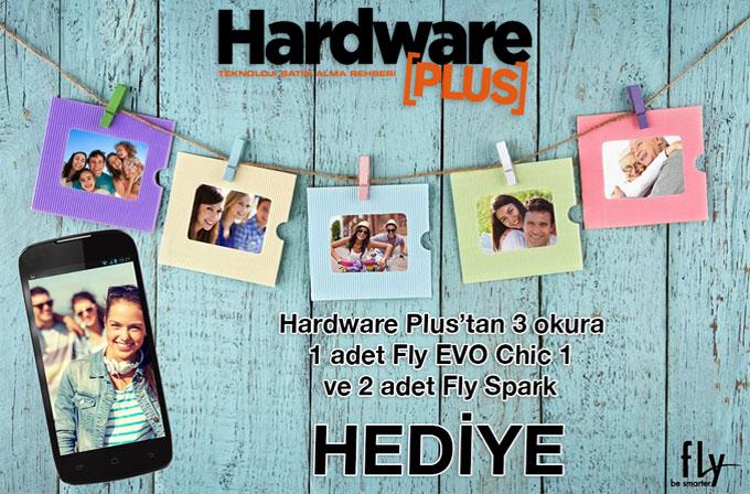 Hardware Plus ve Fly ortaklığı ile 3 adet Fly akıllı telefon hediyesi!