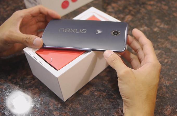 Video: Nexus 6'nın kutu açılış videosu yayımlandı