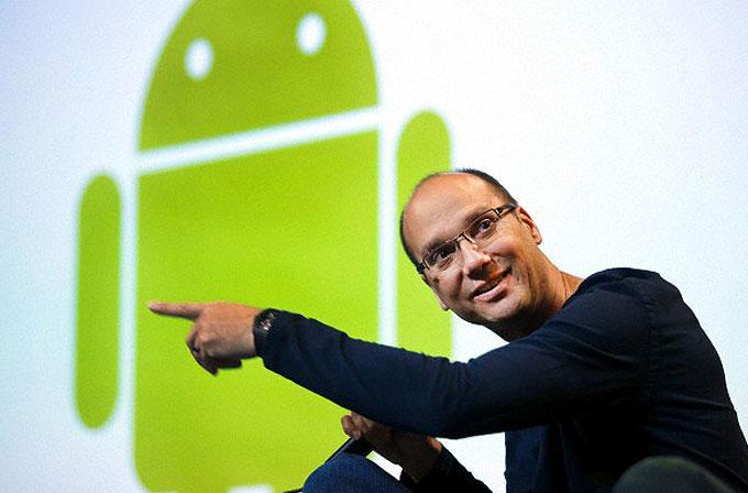 Android'in yaratıcısı Andy Rubin, Google'dan ayrılıyor!