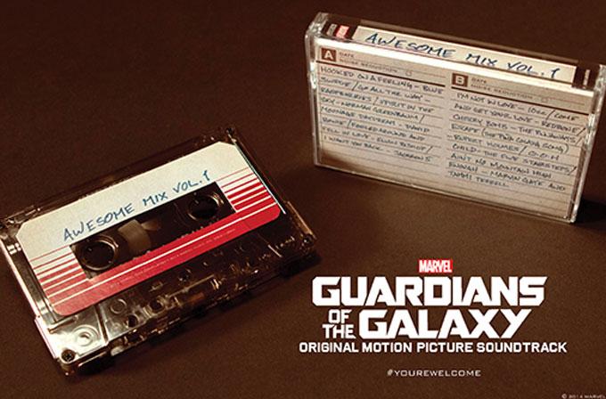 Guardians of the Galaxy'nin resmi mixtape'i satışa çıkıyor