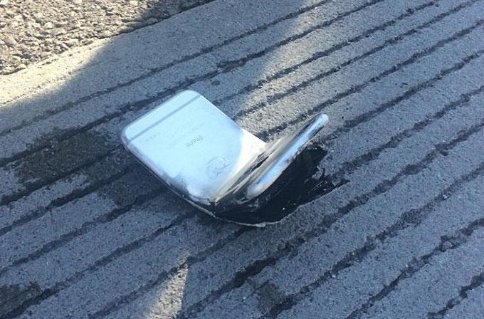 iPhone 6 büküldü, ikinci dereceden yanığa sebep oldu!