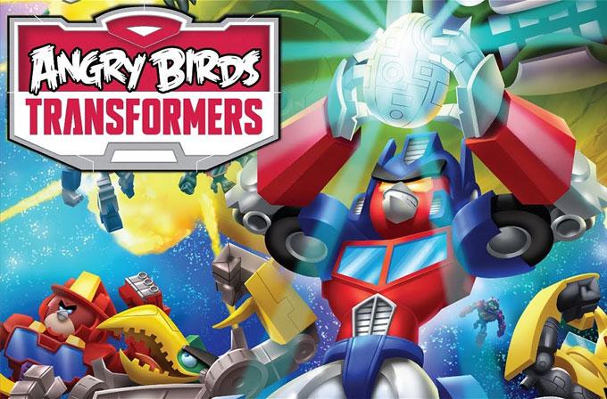 Angry Birds Transformers bugün sunuluyor