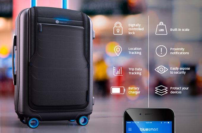 Dünyanın ilk akıllı bavulu: Bluesmart