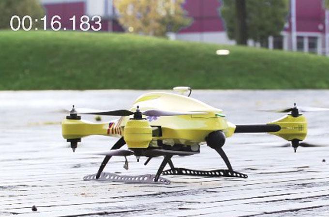 Bu ambulans Drone hayat kurtarmada 10 kat daha başarılı olabilir