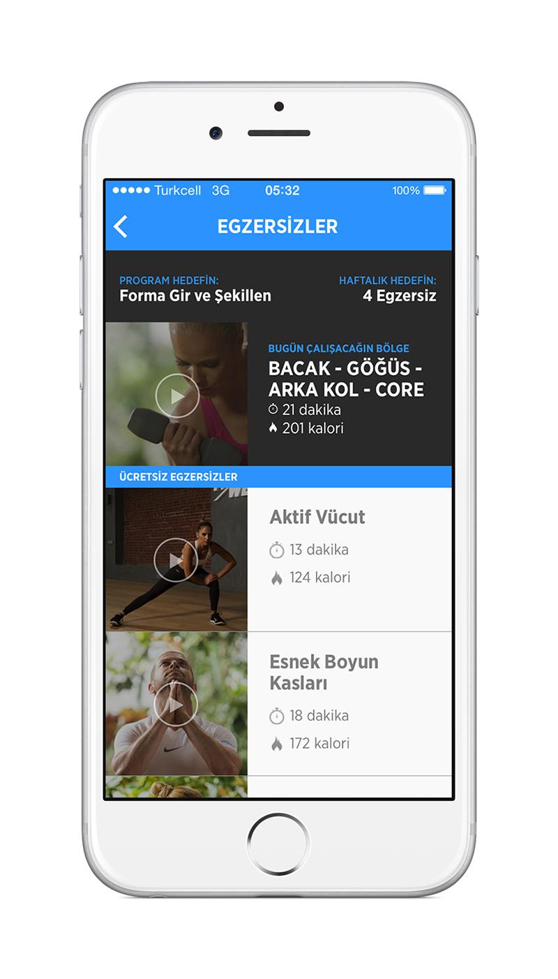 """Kasım ayında Android versiyonu da kullanıcılara sunulacak olan FitWell'i, dileyen herkes şu anda AppStore'dan """"ücretsiz"""" yükleyerek kullanmaya başlayabiliyor"""