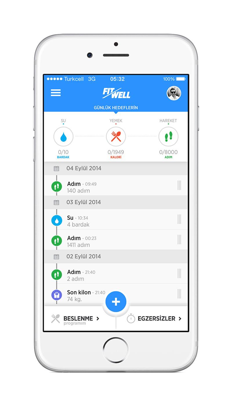 """Turkcell, """"Cebinizdeki Koç"""" FitWell'in """"premium"""" üyeliğini özel tekliflerle müşterilerine ulaştırıyor."""