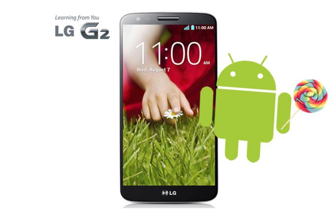LG G2'de Android 6.0 çalıştırıldı