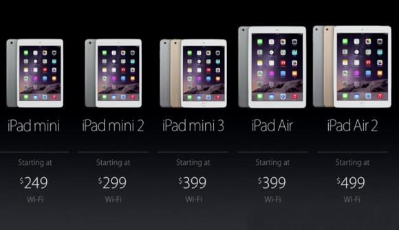 Eski ve yeni iPad fiyatları