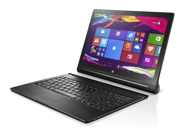 13 inçlik Lenovo Yoga 2 Tablet duyuruldu