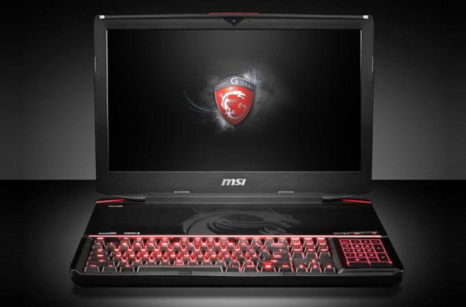 MSI'dan mekanik klavyeli oyuncu dizüstü bilgisayarı: GT80