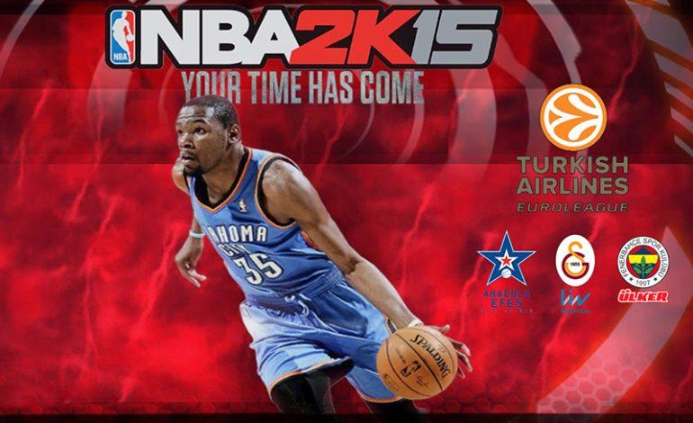NBA 2K15, tüm dünya ile aynı anda Playstore'da!