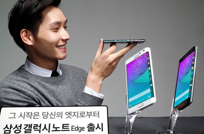 Samsung Galaxy Note Edge anavatanında satışa çıktı