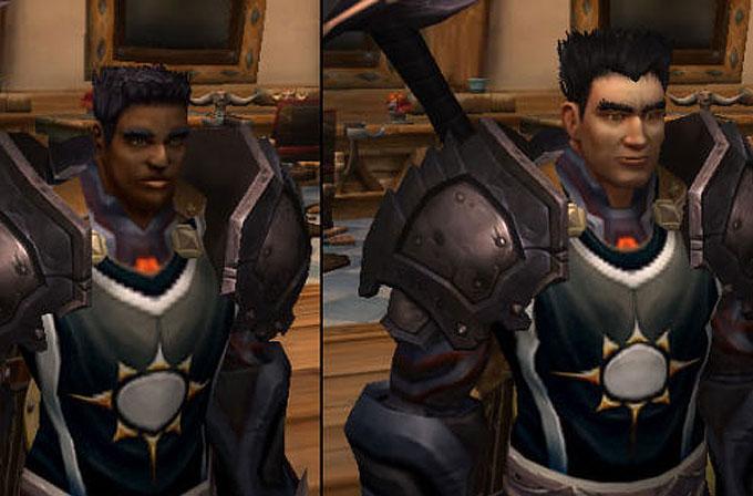World of Warcraft'ın siyahi karakterleri gelen güncelleme sonrası beyaza döndü