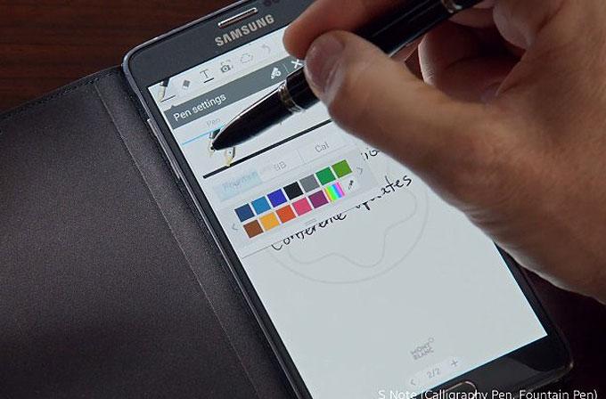 Galaxy Note 4'e Montblanc'ten lüks aksesuarlar