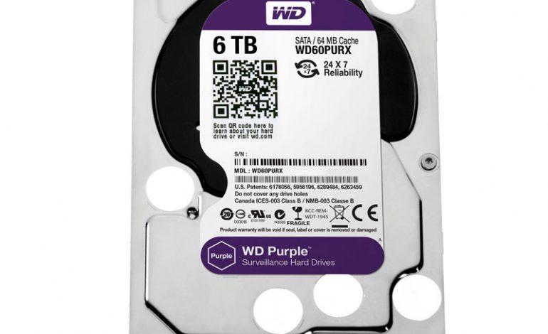 WD, güvenlik kamerası sınıfı sabit disk grubunu genişletiyor