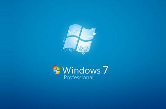 Windows 7'ye yavaş yavaş veda ediyoruz.