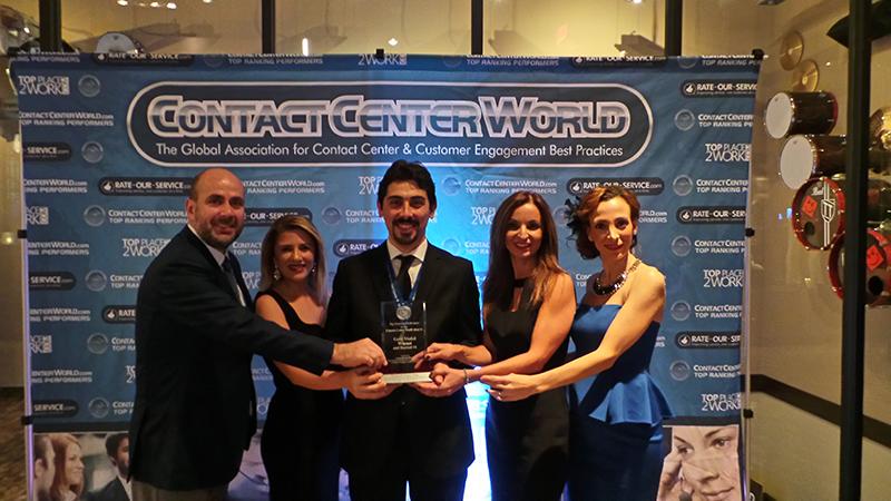 """""""ContactCenterWorld""""un """"2014 Top Ranking Performers"""" ödüllerinde Turkcell müşterilerine sunduğu müşteri hizmetleri ile """"En İyi Müşteri Deneyimi ve Uygulaması""""  kategorisinde dünya birinciliği elde etti."""