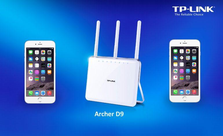 Akıllı telefonlarınızın hızını  TP-LINK'in AC serisi ile arttırın
