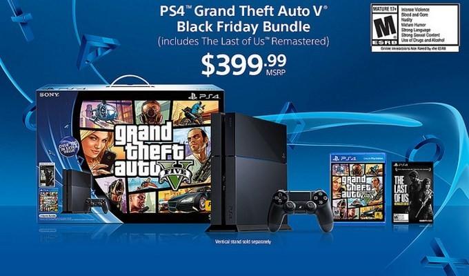 PS4 Black Firday Bundle