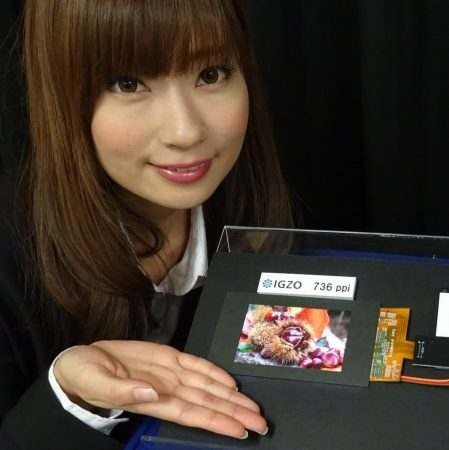 Sharp'ın yeni IGZO LCD ekranı