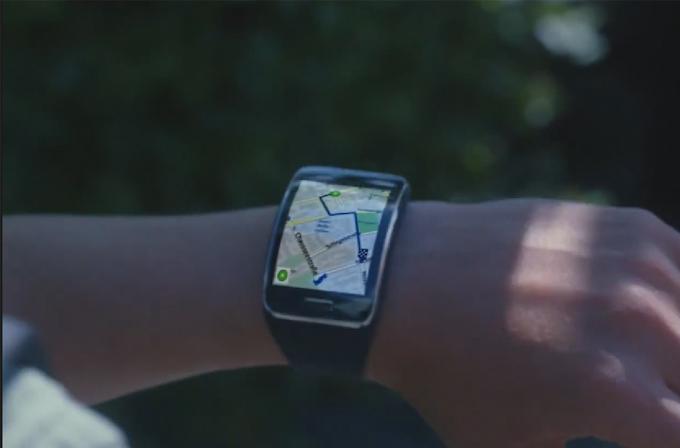 Video: Samsung en yeni akıllı saati  Samsung Gear S için bir reklam yayımladı