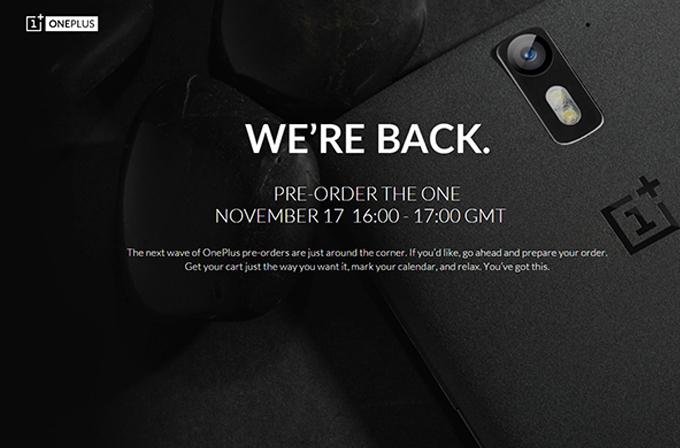 OnePlus One'ın ikinci ön sipariş dalgasına hazır mısınız?