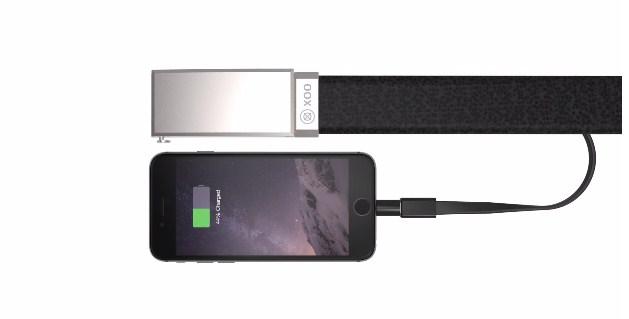 Akıllı telefonunuzu şarj edebilen kemer: XOO
