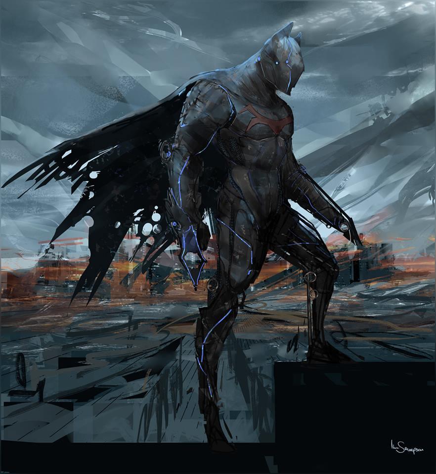 Batman Konsept (Brianstorm)
