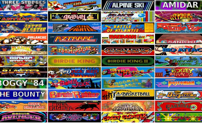Tarayıcınızla 900'den fazla nostaljik atari oyununu oynayabilirsiniz!