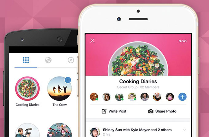 Facebook'tan gruplar için yepyeni uygulama
