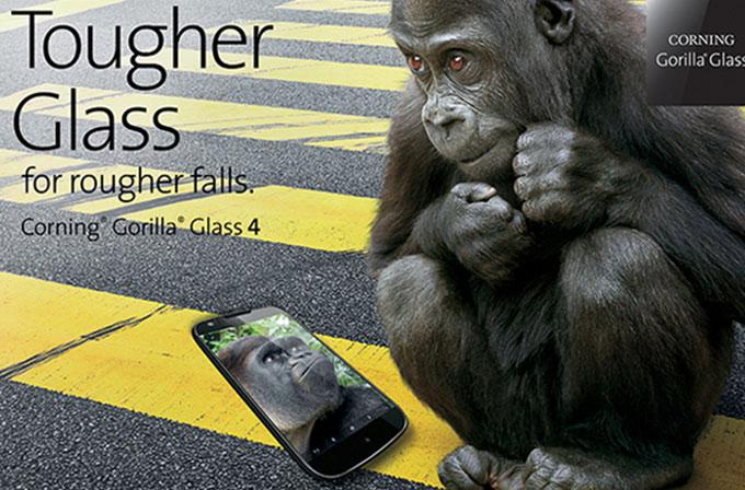 Corning Gorilla Glass 4 gönderimleri başladı