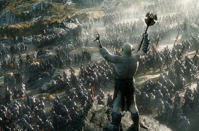 Hobbit: Beş Ordunun Savaşı için özel klip!