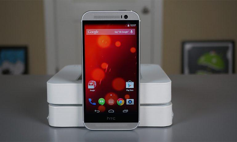 HTC One M7 ve M8 Google Play Edition'lar için Lollipop günü cuma