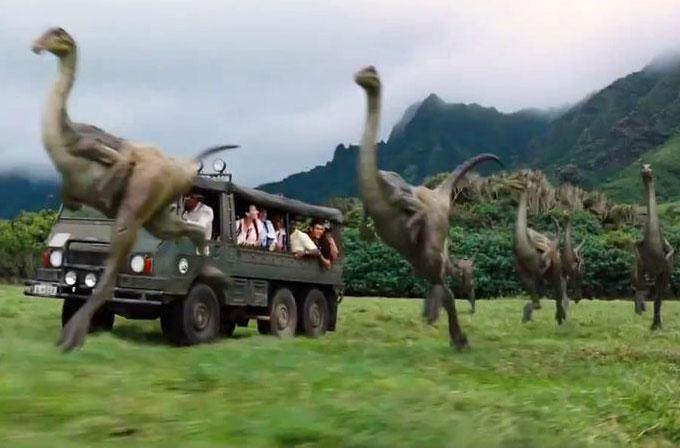 Jurassic World'ün fragmanı yayınlandı