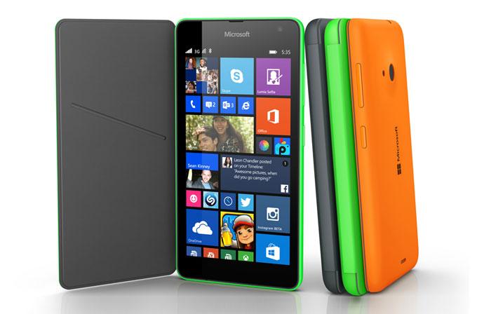 Microsoft Lumia 535 resmi olarak tanıtıldı