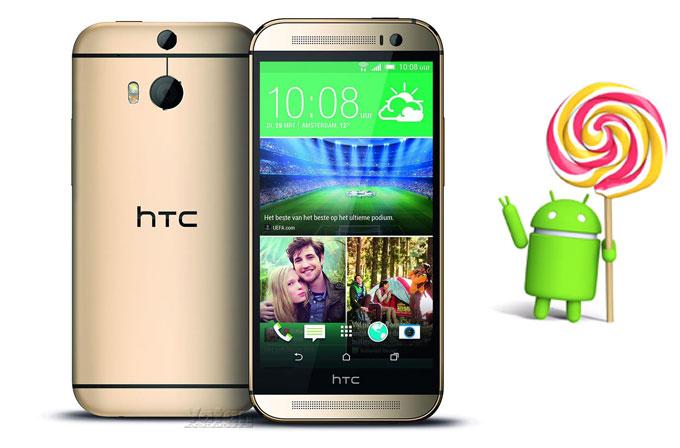HTC One M8'e Android Lollipop 5.0 güncellemesi geldi!