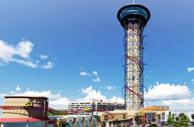 Dünyanın en uzun roller coaster'ının tanıtım videosu yayınlandı