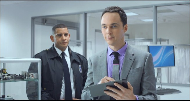Intel'in Sheldon Cooper'lı yeni reklamı