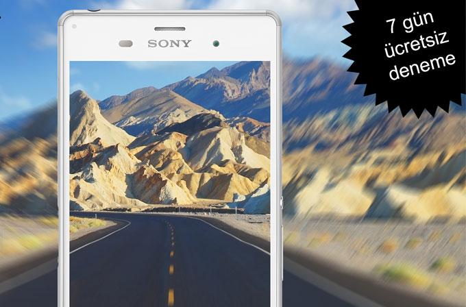 Sony Xperia Z3'ü satın almadan önce test etmek ister misiniz?