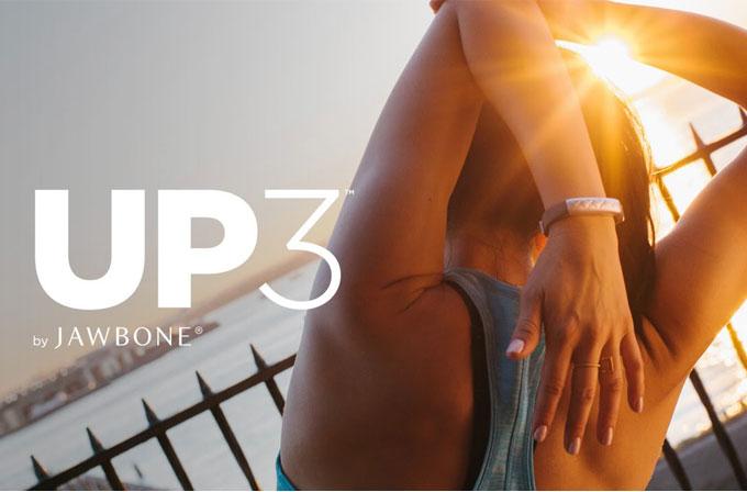 Jawbone Up3 akıllı bilekliği duyuruldu