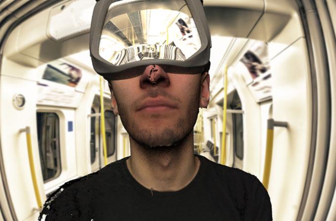 28 gün boyunca sanal gerçeklik gözlüğü takacak