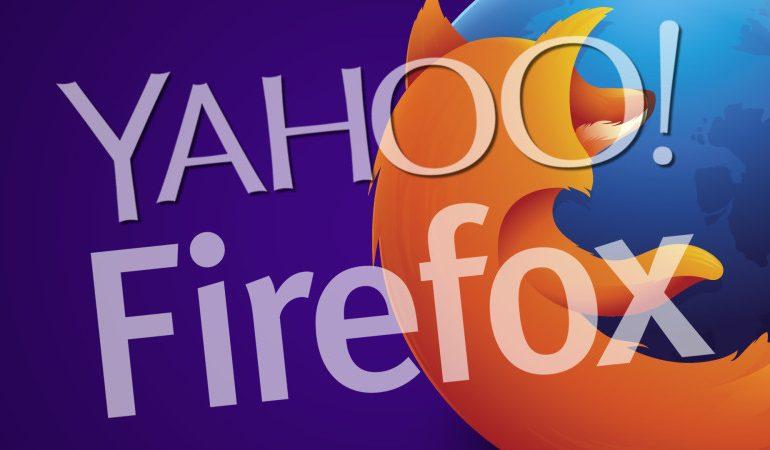 Yahoo, Firefox'un varsayılan arama motoru oldu