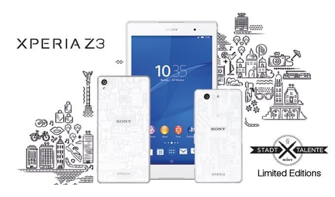 Video: Sony'den Z3 ailesine tasarımcı versiyonu geliyor!